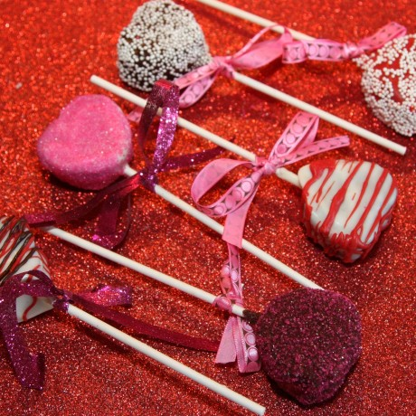 Valentine's Day Gin And Tonic Cake Pops (Set of 10)