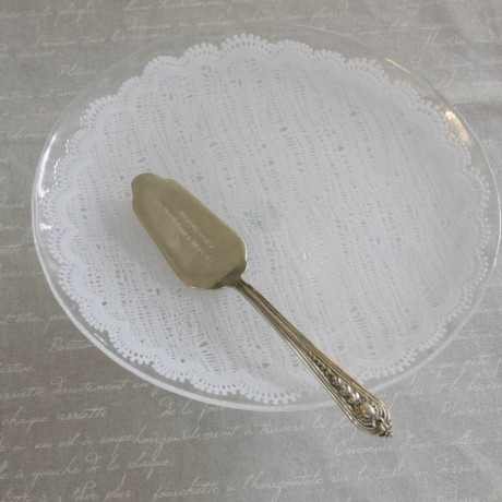 Glass Lace Cake Stand