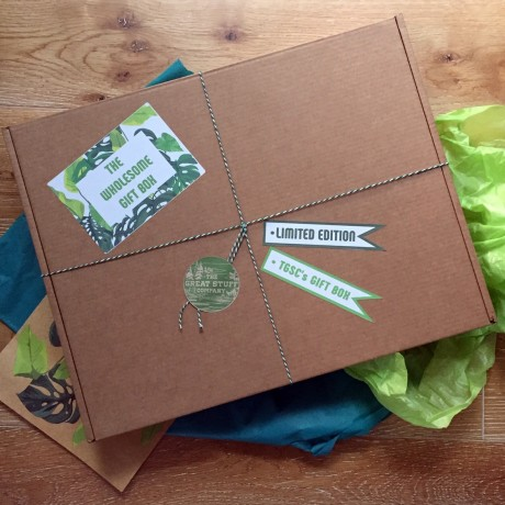 The Wholesome Gift Box - Limited Edition (Organic, Vegan, Gluten Free, Refined Sugar Free) wholesome, nutritious & delicious
