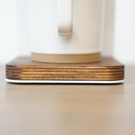 Venture Designs Pour Over Stand + Dripper (White)