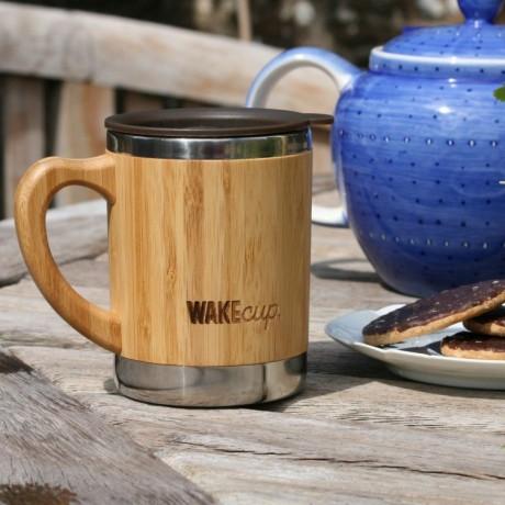 Reusable Bamboo Travel Mug