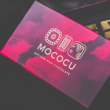 Cacao & Hazelnut Sharing Dip with Satin Blindfold Gift Box