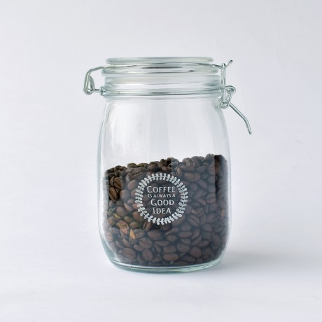 Coffee Is Always A Good Idea 1 litre Storage Jar