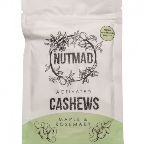 Nutmad Activated Cashews Maple & Rosemary