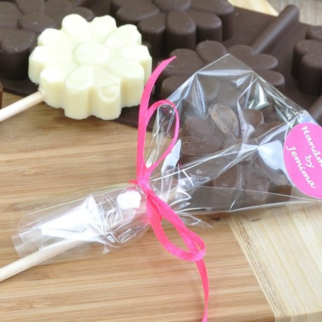 Personalised Flowers Chocolate Lollipops Making Kit