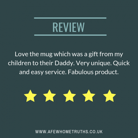 Personalised Dad Face Birthday Gift Mug