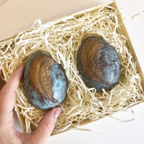 Mini Ostrich Chocolate Easter Eggs
