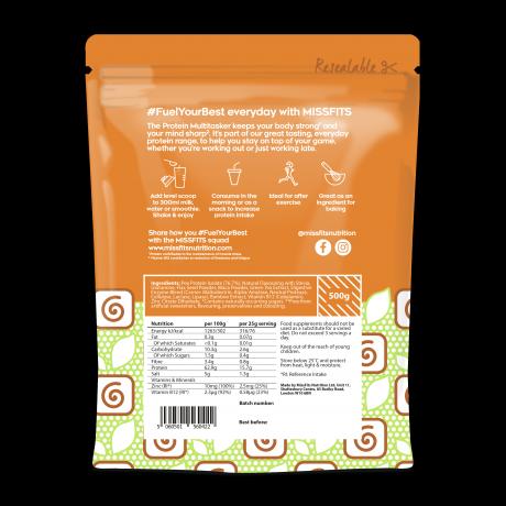 Salted Caramel Vegan Multitasker - Pea Protein Powder