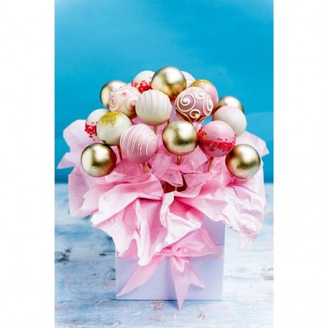 Mother's Day Cake Pops Bouquet Gift Box