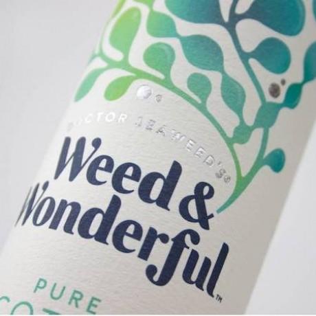 Pure Seaweed close up label