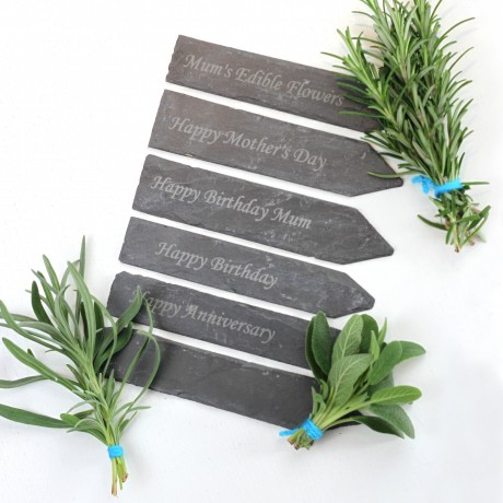 Personalised Slate Markers