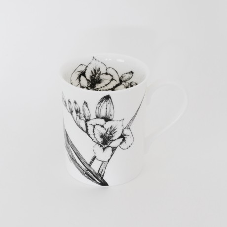 Freesia & Orange Blossom Mug
