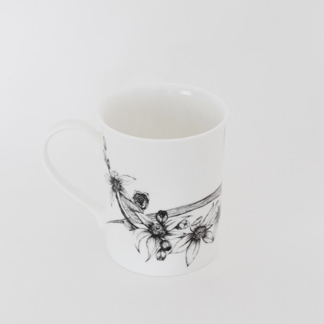 Freesia & Orange Blossom Mug Back