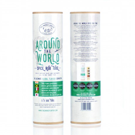 Around The World Spice Rub Tube Gift Set