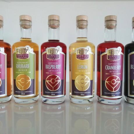 Fruity Tipples British Blackcurrant Vodka (Great taste 1 star award 2017)