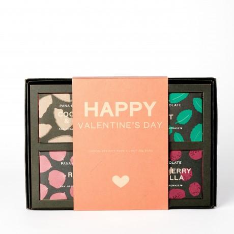 Happy Valentine's Day Organic Chocolate Gift Box