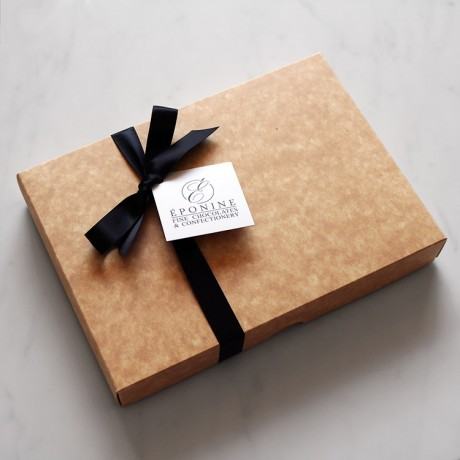 Salted Caramel Chocolate Brownies Packaging