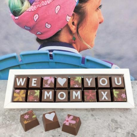 Personalised I LOVE YOU MUMMY Box of Chocolates