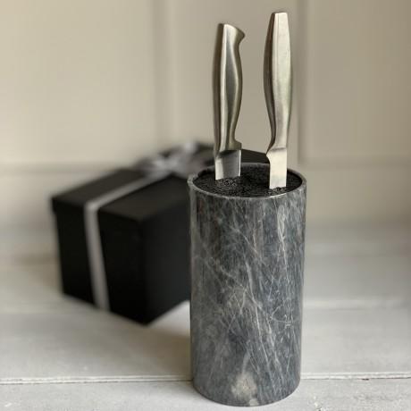 Marble Knife Block