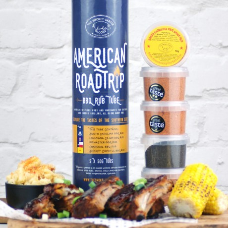 American Roadtrip BBQ Rub Tube