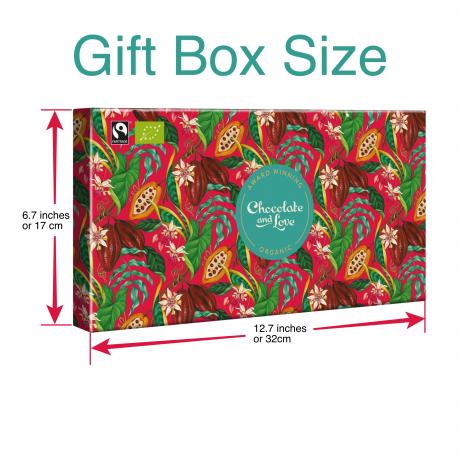 Creamy Dark Chocolate Gift box 4x 80g bars