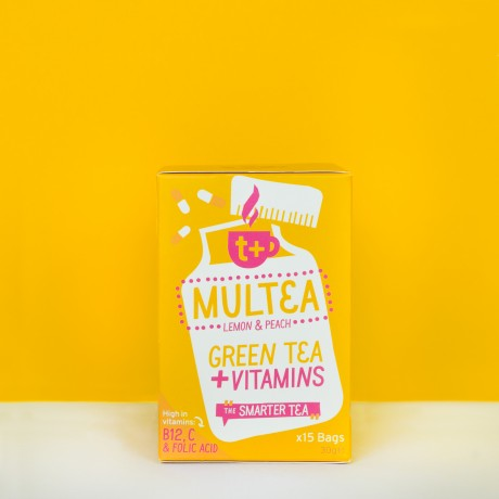 All the best of herbal, fruit, green tea with added vitamins!