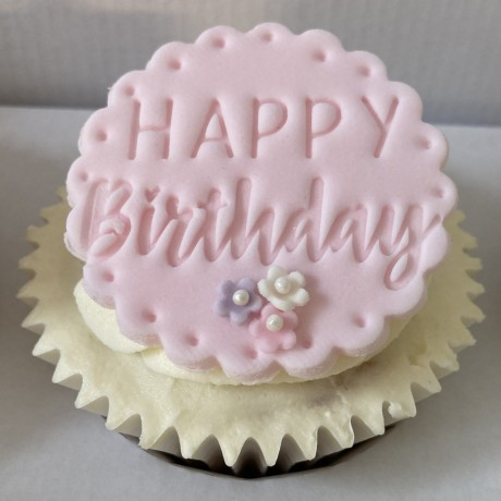 Happy Birthday Pretty Cupcakes by Post Gift