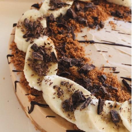 Dairy Free Banoffee Cheesecake (Vegan)