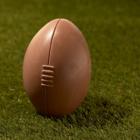 Chocolate Rugby Easter Egg