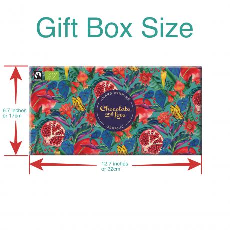 Pomegranate Chocolate Gift box 4x 80g bars