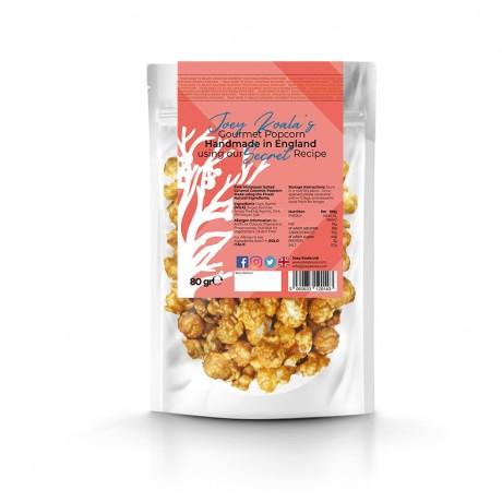 Pink Himalayan Salted Caramel Gourmet Popcorn