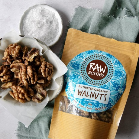 Activated Sun Salted Walnuts - 3 packs