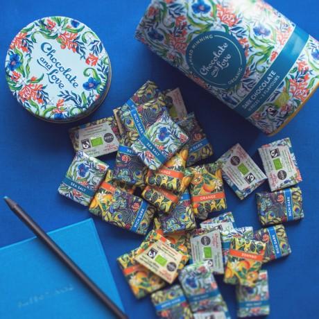 Chocolate and Love Sea Salt Gift Tin
