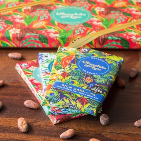 Chocolate and Love Creamy Dark Gift Box