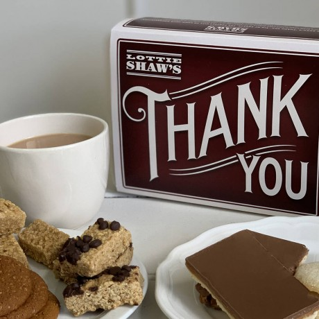 Thank You Tin of Delicious Treats