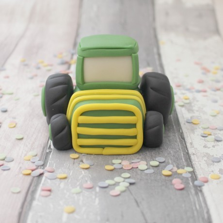 Tractor cake topper