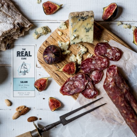 Dorset Blue Vinny & Fig Salami
