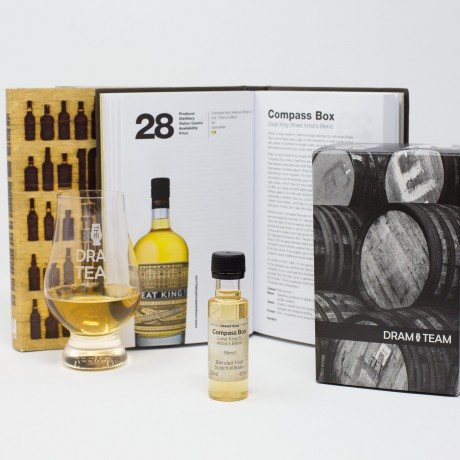 101 Whiskies Gift Set with Artist's Blend dram