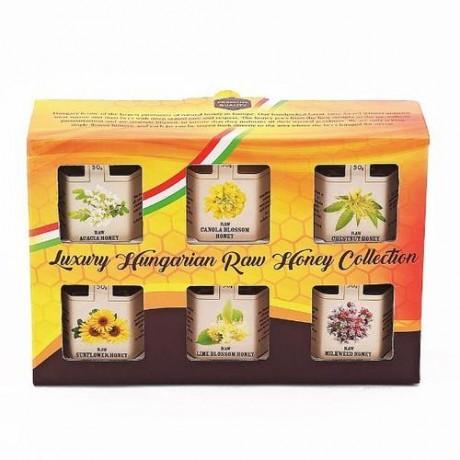Luxury Hungarian Honey Selection Gift Set