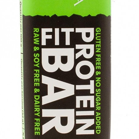 Natural PROTEIN FIT BAR, Chocolate and Sea Salt, Pack of 15 × 52g Protein Bars