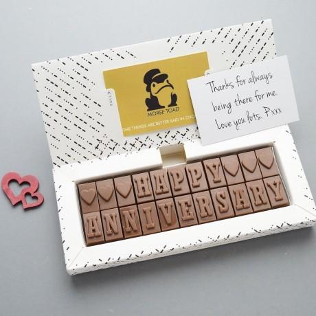Happy Anniversary Chocolates