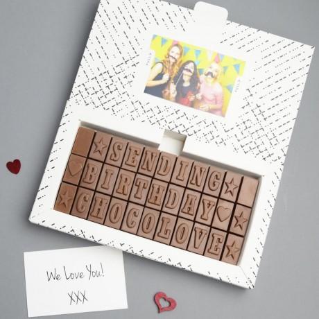 50th Birthday Chocolates