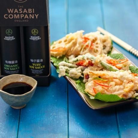Wasabi Label Twin Pack Organic Soy 200ml Yuzu Soy 200ml