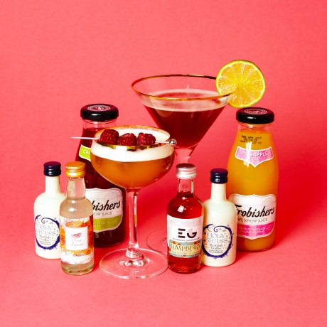 French Martini And Cosmopolitan Cocktail Set