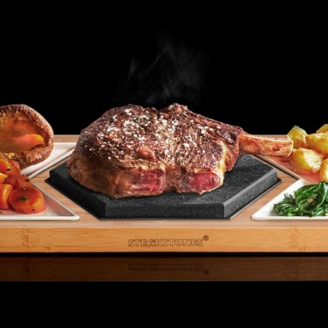 Cook Your Steak Exactly as You Like - Hot Stone Cooking Hex Set