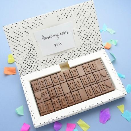 New Baby Chocolates