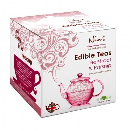 Nim's Edible Tea - Beetroot & Parsnip Tea