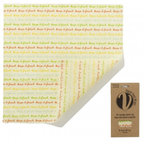 Reusable Vegan Food Wrap - Large Bread Wrap