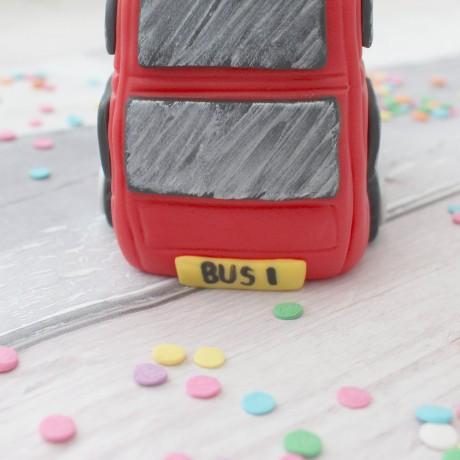 Bus cake topper