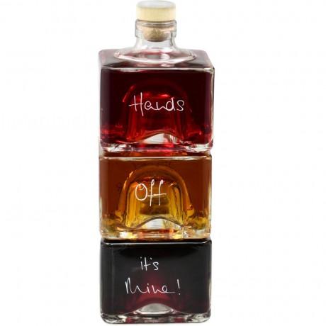 Personalised Liqueur Stacker Bottles Set